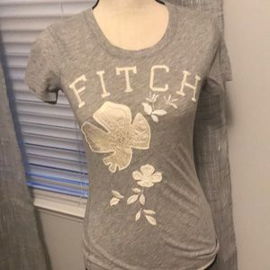 A&F embroidered tee